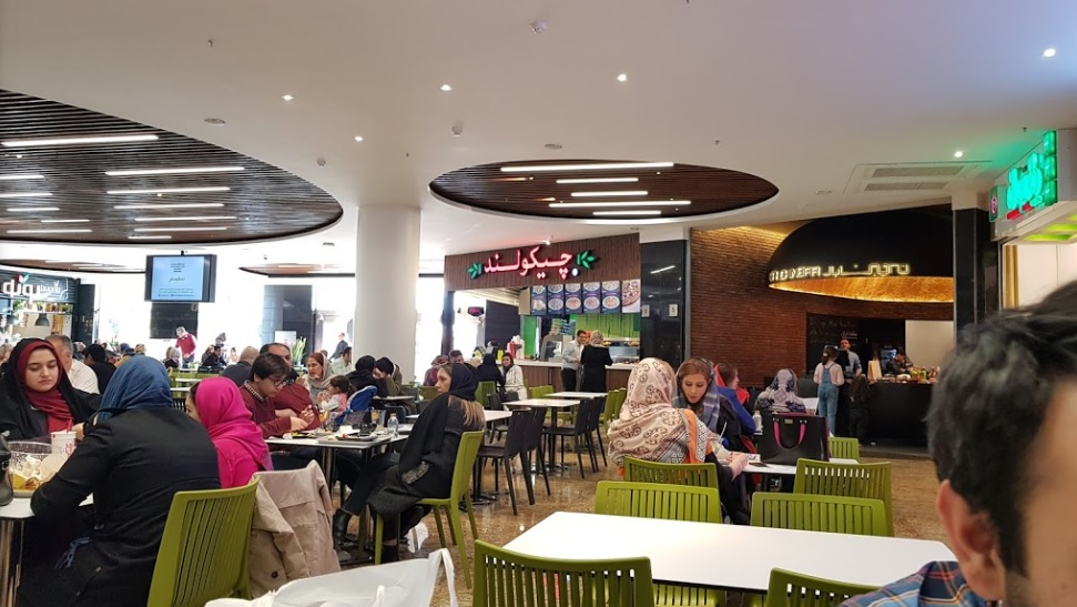 sana center food court design